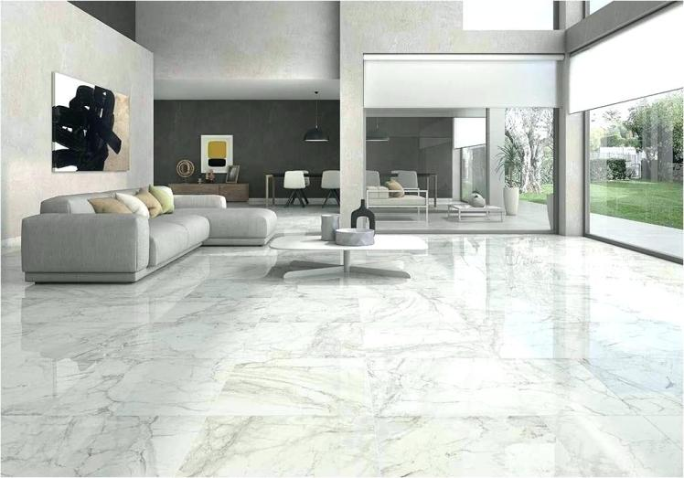 white-marble-floor-living-room